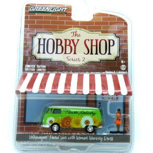 Volkswagen Kombi The Hobby Shop Séries 2 1/64 Greenlight
