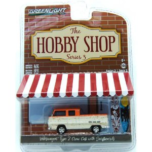 Volkswagen Type 2 The Hobby Shop Series 3 1/64 Grennlight