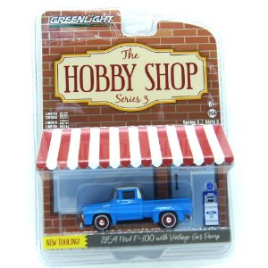 Ford F-100 1954 The Hobby Shop Series 3 1/64 Greenlight
