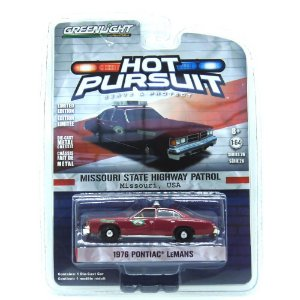 Pontiac Lemans 1976 Hot Pursuit 1/64 Greenlight