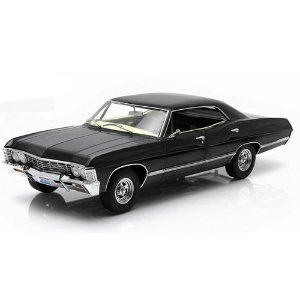 Chevrolet Impala Sport Sedan 1967 Sobrenatural  1/43 GREENLIGHT