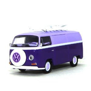 Volkswagen Kombi Type 2 Panel Van 1971 1/64 Greenlight Califórnia Collectibles 64