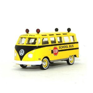 Volkswagen Kombi Escolar Samba Bus 1964 1/64 Greenlight Califórnia Collectibles 64