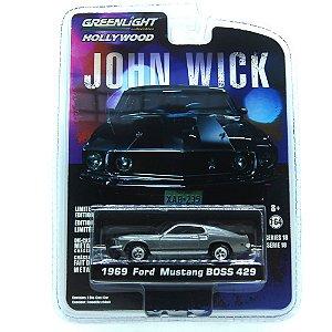 Ford Mustang Boss 429 1969 John Wick 1/64 Greenlight