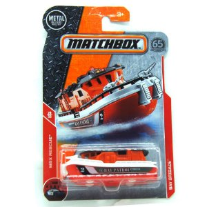 Barco de Patrulha Bay Brigade MBX Rescue 1/64 Matchbox