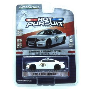 Dodge Charger 2016 Hot Pursuit 25th Edition 1/64 Greenlight