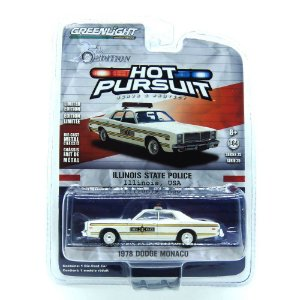 Dodge Monaco 1978 Hot Pursuit 25th Edition 1/64 Greenlight