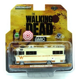 Whinnebago Chieftain 1973 AMC the Walking Dead 1/64 Greenlight