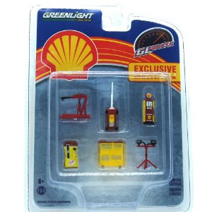 Oficina Mecânica Shell 1/64 Greenlight