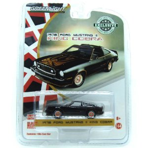 Ford Mustang II 1978 King Cobra 1/64 Greenlight