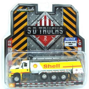 Caminhão Tanque International WorkStar Shell Oil 2017 SD Trucks 1/64 Greenlight