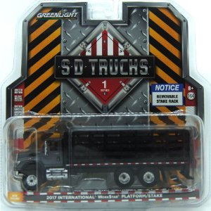 Caminhão International WorkStar Construction Dump 2017 SD Trucks 1/64 Greenlight
