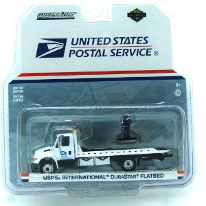 Caminhão USPS International DuraStar United States Postal Service Hot Trucks 1/64 Greenlight