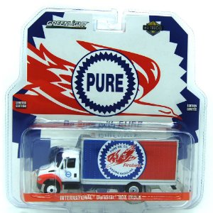 Caminhão Baú International DuraStar Pure HD Trucks 1/64 Greenlight