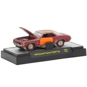 Chevrolet Camaro SS/RS 350 1969 Auto-Projects R40 1/64 M2 Machines