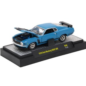 Ford Mustang Boss 302 1970 Detroit-Muscle R38 1/64 M2 Machines