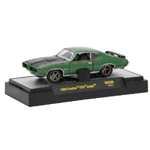 Pontiac GTO Judge 1969 Wild-Cards WC06 1/64 M2 Machines