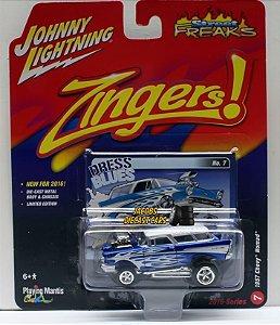 Chevy nomad 1957 Zingers! 1/64 Johnny Lightning