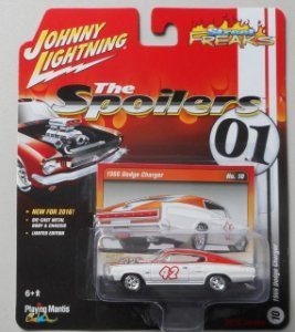 Dodge Charger 1966 The Spoilers 01 1/64 Johnny Lightning