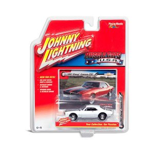 Chevy Camaro Z28 1967 Muscle Cars USA B 1/64 Johnny Lightning