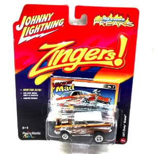 Chevy nomad 1957 Zingers! A 1/64 Johnny Lightning