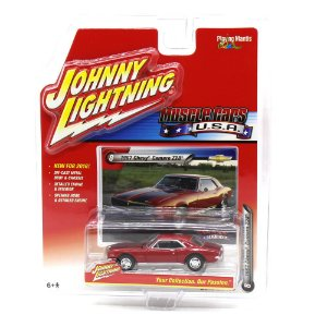 Chevy Camaro Z28 1967 Muscle Cars USA A 1/64 Johnny Lightning