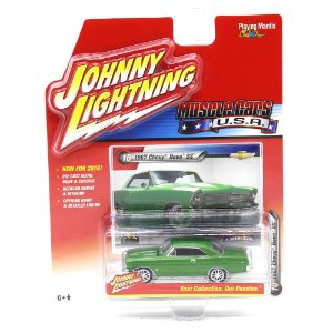Chevy Nova SS 1967 Muscle Cars USA A 1/64 Johnny Lightning