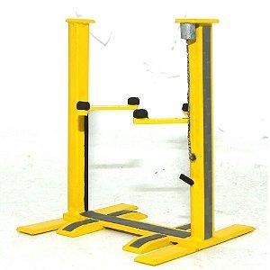 Elevador para Miniaturas 1/64 - Amarelo