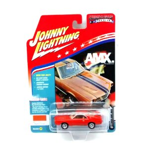 AMC AMX 1969 Muscle Cars USA A 1/64 Johnny Lightning
