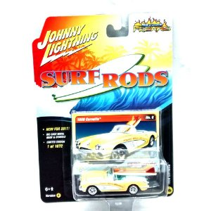 Corvette 1958 Surf Roads B 1/64 Johnny Lightning