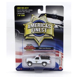 Ford Bronco 1980 California Highway Patrol 1/64 Racing Champions Mint America´s Finest 2017 Series Release 1 Versão A