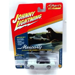 Mercury Cougar XR7-G 1968 Classic Gold Collection B 1/64 Johnny Lightning