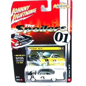 Chevy Bel Air 1962 The Spoilers 01 A 1/64 Johnny Lightning