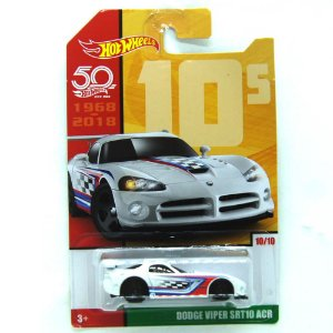 Dodge Viper SRT10 ACR 1/64 Hot Wheels 50 Anos