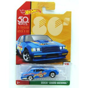 Buick Grand National 1/64 Hot Wheels 50 Anos