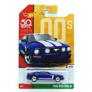 Ford Mustang GT 1/64 Hot Wheels 50 anos