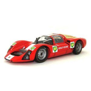 Porsche 906E BP World Record Runs Monza 1967 1/18 Minichamps