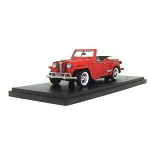 Willys Jeepster 1/43 Neo