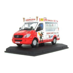 Mercedes-Benz Sprinter Coronatos Ice Cream 1/43 Oxford