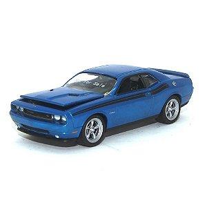 Protótipo Dodge Challenger 2010 Azul 1/64 Greenlight