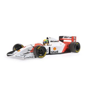 McLaren Ford MP4/8 Ayrton Senna 1993 1/18 Minichamps