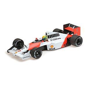McLaren Honda MP4/5B Ayrton Senna Campeão do Mundo 1990 1/18 Minichamps
