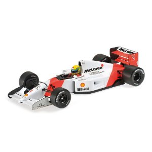McLaren Honda MP4/7 Ayrton Senna 1992 1/18 Minichamps