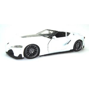 Toyota FT-1 Concept Branco JDM Tuners 1/24 Jada Toys