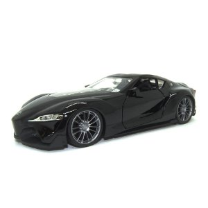 Toyota FT-1 Concept Preto JDM Tuners 1/24 Jada Toys