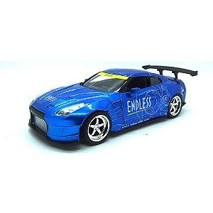 Nissan GT-R (R35) Ben Sopra 2009 Azul JDM Tuners 1/24 Jada Toys