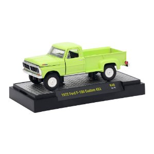 Ford F-100 Custom 4x4 1972 Auto Trucks 32500 Release 48 1/64 M2 Machines