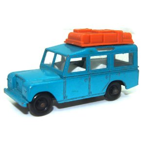 Land Rover Safari N° 12 1/64 Matchbox Anos 60