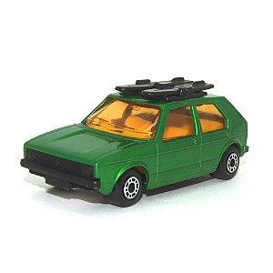 Volkswagen Golf Nº7 1/64 Matchbox Verde