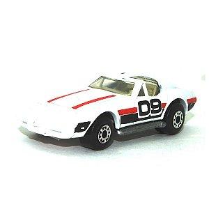 Chevrolet Corvette branco Nº62 1/64 Matchbox Anos 70